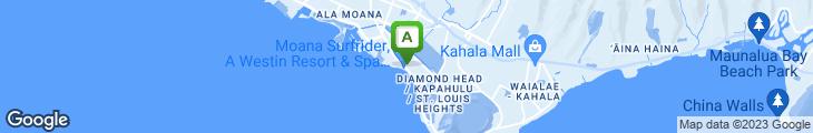 Map of Pikake Terrace Restaurant