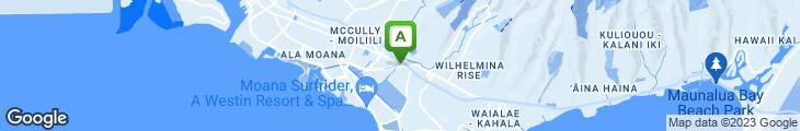 Map of Gazen Bar & Grill