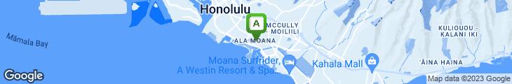 Map of California Wok