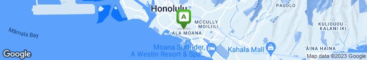 Map of L'Uraku Restaurant
