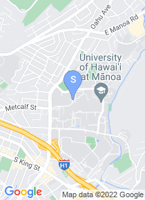 University of Hawaii map