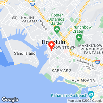 Map of Canon Solutions America at 841 Bishop Street, Honolulu, HI 96813