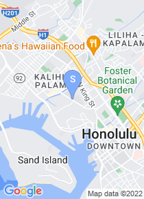 Honolulu Community College map