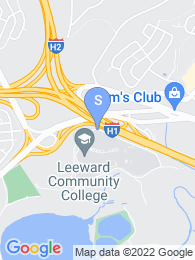 Leeward Community College map