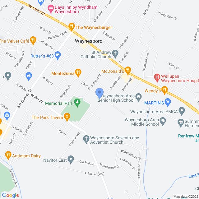 210 Clayton Ave, Waynesboro, PA 17268, USA