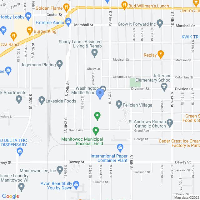 2101 Division St, Manitowoc, WI 54220, USA