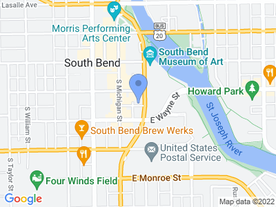 215 Doctor Martin Luther King Junior Boulevard, South Bend, IN 46601, USA