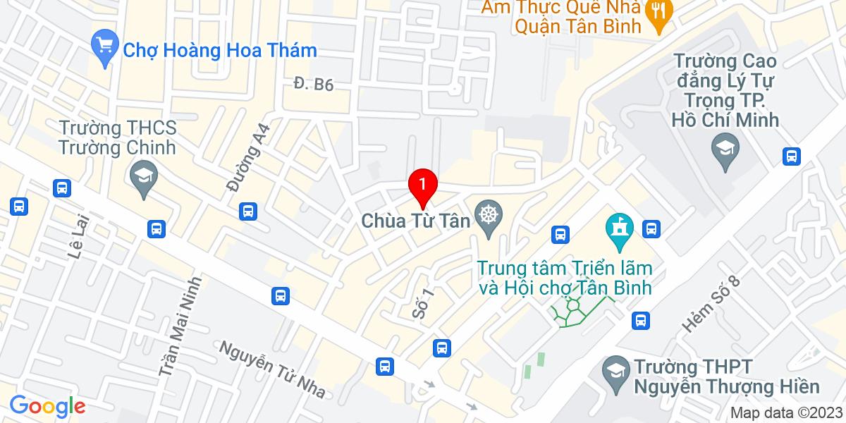 Google Map of 226 nguyễn thái bình, phường 12, quận tân bình