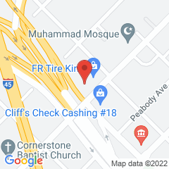 Google Map of 2311 Dr. Martin Luther King, Jr., Boulevard, Dallas, Texas 75215