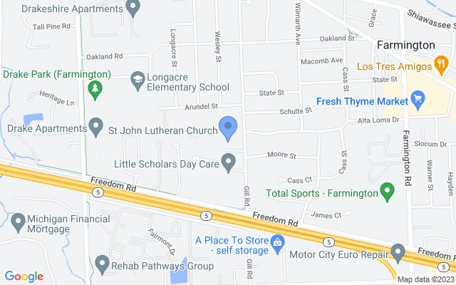 23225 Gill Rd, Farmington, MI 48335, USA
