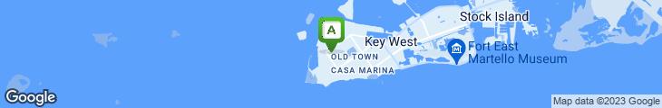 Map of Margaritaville Cafe