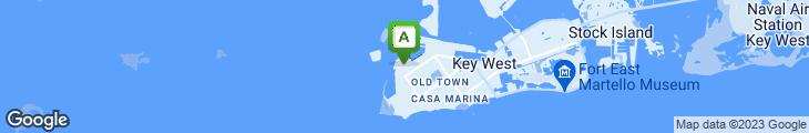 Map of Sloppy Joe's