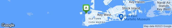 Map of Pier House Resort & Caribbean Spa