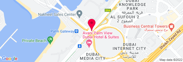 Map for Dubai Media City