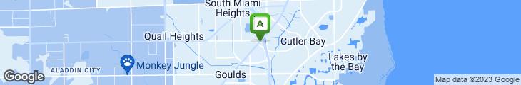 Map of Ernesto's Taco Shop