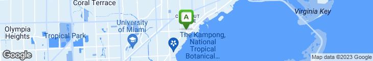 Map of Cafe Tu Tu Tango