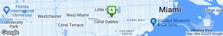 Map of La Palma Ristorante & Bar