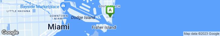 Map of DeVito South Beach