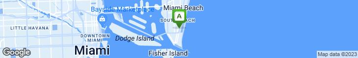 Map of Puerto Sagua Restaurant