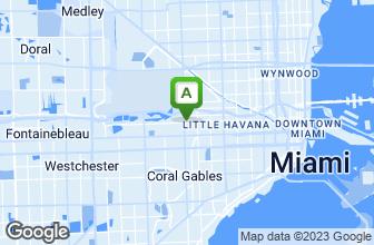 Map of La Rosa Restaurant