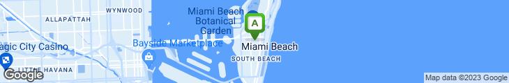 Map of SUSHISAMBA Miami Beach