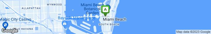 Map of Latin Cafe 2000