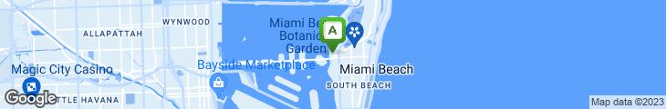 Map of Madiba Miami