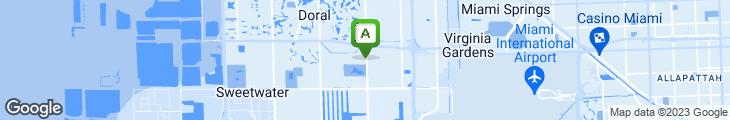 Map of Tony Roma's