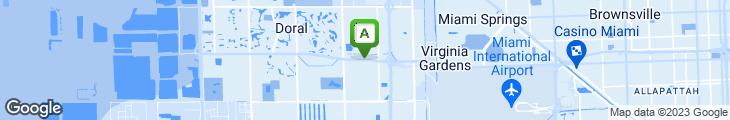 Map of Johnny Carino's