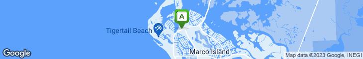 Map of Island Cafe