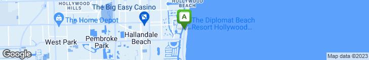 Map of Satine Restaurant & Lounge