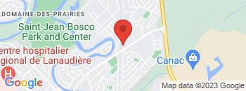 Google Map of 250%2C+boul.+Antonio+Barrette%2CJoliette%2CQuebec+J6E+6J5