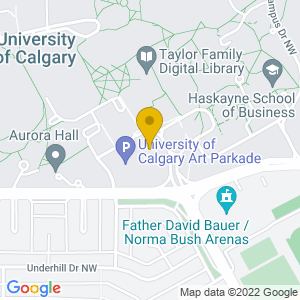 Map to Macewan Hall/The Den provided by Google
