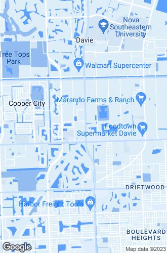 Map of Davie