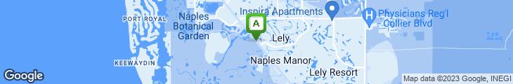 Map of Buca Di Beppo