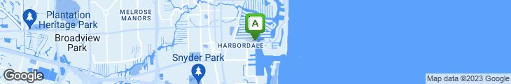 Map of La Marina