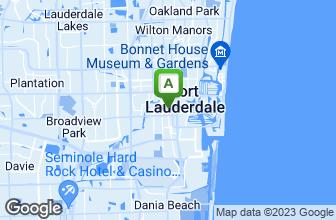 Map of Mr. Nick's Sub Shoppe