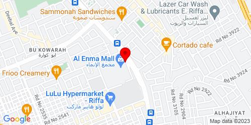 Google Map of 26.130306,50.574559