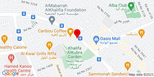 Google Map of 26.137574, 50.567199