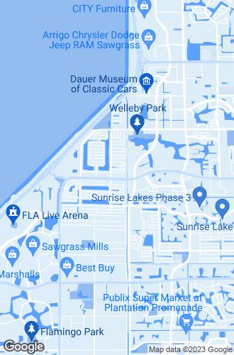 Map of Sunrise