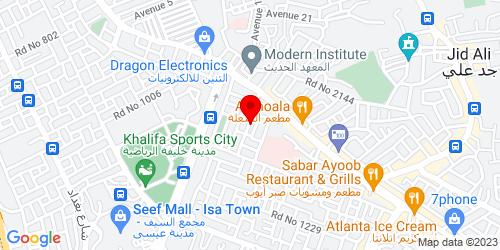 Google Map of 26.176424,50.552915