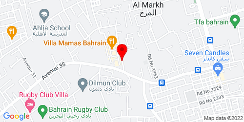 Google Map of 26.197096, 50.477735
