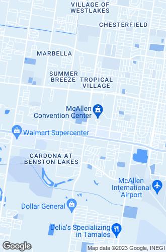 Map of Mcallen