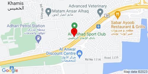Google Map of 26.200476,50.557642