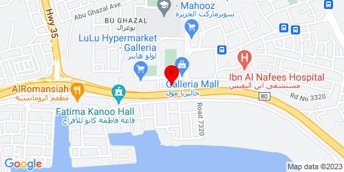 Google Map of 26.204366,50.57466