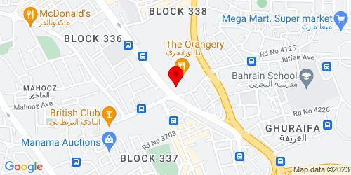 Google Map of 26.208133, 50.595648
