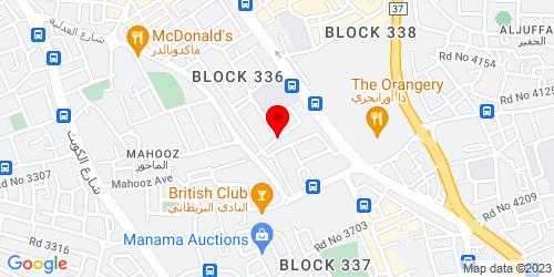 Google Map of 26.20862, 50.592172