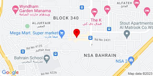 Google Map of 26.211262,50.607844