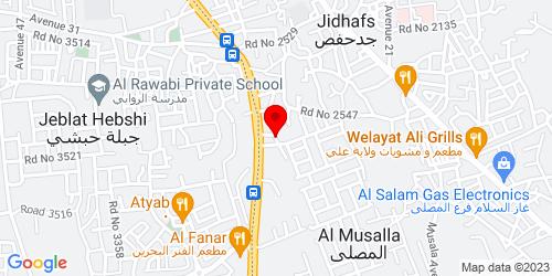 Google Map of 26.212913, 50.534902