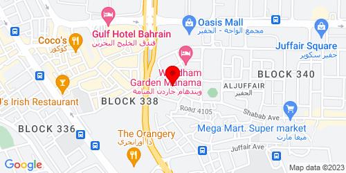 Google Map of 26.213124, 50.598458